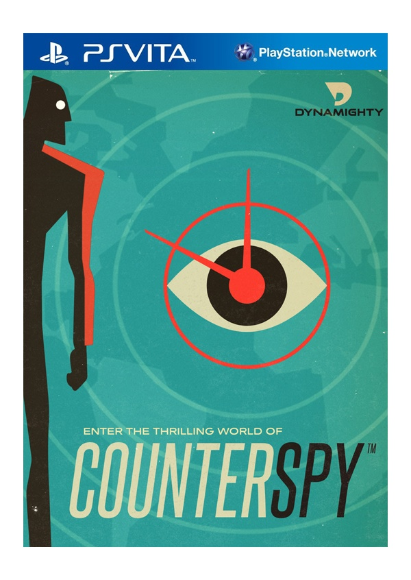 Counterspy PS Vita PS4 Logo
