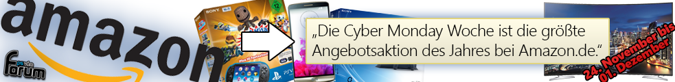 Amazon Cyber Monday Woche: Unschlagbare Angebote